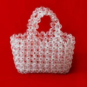 NASTY GAL Mini Beaded Bag